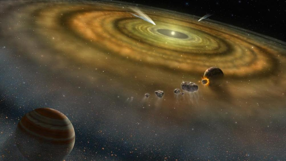 artists-conception-dust-and-gas-surrounding-newly-formed-planetary-system