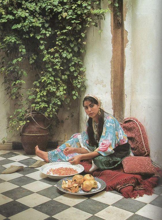 mujer cebollas