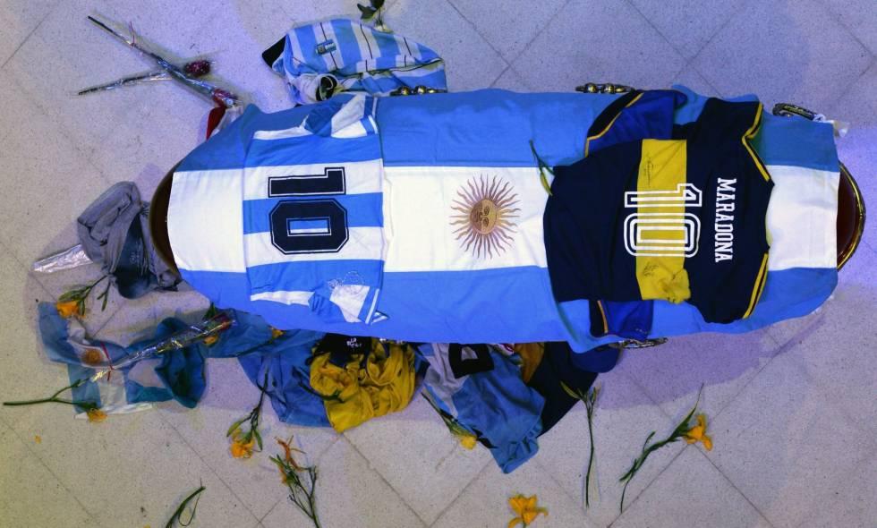 Entierro-Maradona