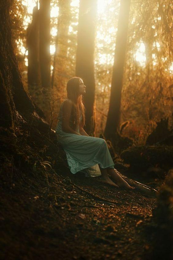mujer bosque2