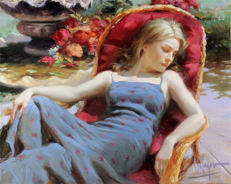 Pinturas-óleo-mujeres-Vladimir-Volegov-8